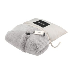 Vetsak Hoes Faux Fur Grey