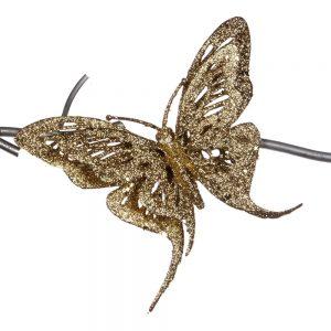 Gouden Vlinder Kerst