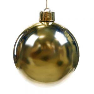 Kerstbal goud shiny