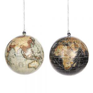 Kerstballen Globe